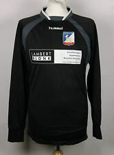 #1 OLYMPIA '18 BOXMEER GOALKEEPER FOOTBALL SHIRT HUMMEL RARE MENS M/L HOLLAND
