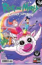 RICK AND MORTY LIL POOPY SUPERSTAR 1 RARE NEWBURY VARIANT ONI PRESS NM PRE-SALE