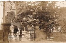 f england Cheshire postcard english old church alderley