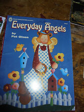 Everyday Angels by Pat Olson Grace Publication Tole Painting craft book GUC