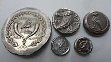 Repro Ancient Coins With Owl Tetradrachm Lebedos Athens Bactria  Free Shipping