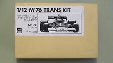 1/12 McLaren M23 F1 1976 James Hunt Jochen Mass transkit Chevron NOT Tamiya MFH