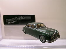 SMALL WHEELS SW4 JAGUAR MK.2 1962 GREEN WHITE METAL HANDBUILT BOXED SCALE 1:43