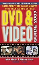 Dvd and Video Guide 2007 by Marsha Porter and Mick Martin (2006, Paperback)
