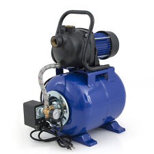 """1.6 HP 1"""" Shallow Well Electric Garden Pump w/ Booster System & Steel Tank"""