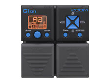 Zoom G1on Multi Effects Guitar Processing Pedal - G1 On