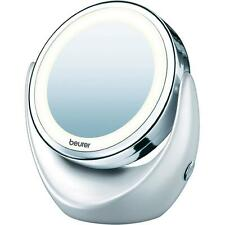 Beurer BS49 Illuminated cosmetic mirror Normal & Magnified with LED Light NEW
