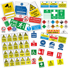 HEALTH AND SAFETY SIGNS WARNING / HAZARD SIGNS  & POSTERS COLLECTION OVER 7000+