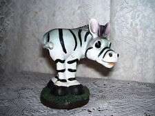 MADAGASCAR ZEBRA FIGURINE UNIQUE CREATIONS