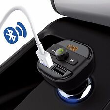 Bluetooth Car Kit Wireless FM Transmitter Dual USB Charging MP3 Music Player