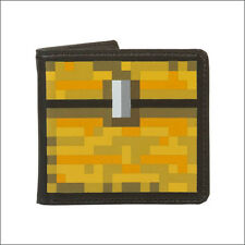 Official Licensed Minecraft Game Chest Bi-fold Bifold Men's Boy's Leather Wallet
