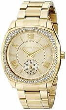 MICHAEL KORS MK6134 BRYN GOLD TONE LADIES WATCH -- 2 YEARS WARRANTY