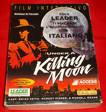 UNDER A KILLING MOON Pc Versione Italiana1ª Edizione Big Box ○ COMPLETO