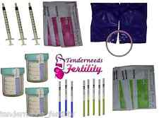 Human Artificial Starter ICI At Home Insemination Kit Ovulation & Pregnancy Test