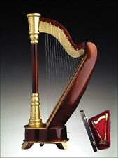 "HARP Music Box, 9.5 inches, Plays ""Music Of The Night"", by Broadway Gifts"