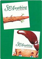 Say Anything ...is a Real Boy RARE promo stickers '06