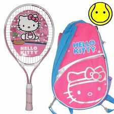 Official Hello Kitty Tennis Backpack and Junior 19 inch Tennis Racquet