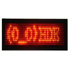 Programmable LED Name Tag Digital Display Scrolling Rechargeable Message Badge