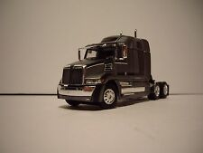DCP 1/64 GRAY METALLIC & BLACK WESTERN STAR 5700 XE WITH 68'' HIGH ROOF SLEEPER