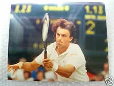 Tennis Press Photo- HENRI LECONT in action Int'l player from France,Jul 1986(Org
