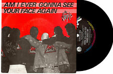 """THE ANGELS - AM I EVER GONNA SEE YOUR FACE AGAIN - RARE PROMO 7""""45 RECORD 87"""