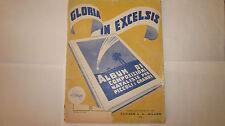 GLORIA IN EXCELSIS SPARTITO COMPOSIZIONE NATALE PIANOFORTE ED. CARISCH 1950