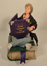 "Hermione Granger 7"" Doll Hallmark Figure Figurine Photo Frame Book Drawer Potter"