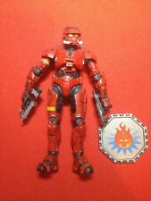 Halo figure Halo 3 Red Eod Spartan with twin smg