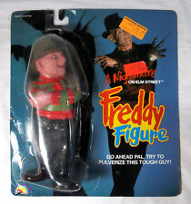 1989 A Nightmare on Elm Street Freddy Figure on Original Card by LJN Toys