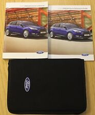 FORD FOCUS HATCHBACK ESTATE & SALOON HANDBOOK OWNERS MANUAL WALLET 2014-2016