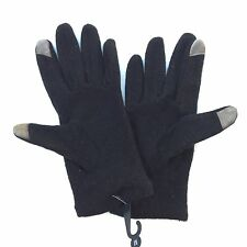 NORDSTROM Woman Black Wool Blend Gloves NWT
