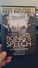 THE KING'S SPEECH (DVD, 2011, Canadian) Used Once - Free Shipping - Oscar Winner