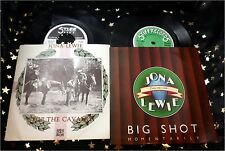 JONA LEWIE * 2 TOP Singles * BIG SHOT (1980 UK) + STOP THE CAVALRY (1980 UK)