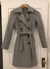 J.Crew Women's Gray Wool Peacoat - Size 2