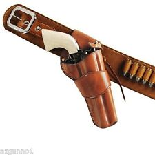 "Galco 1880 Western Holster Colt, Ruger  5 1/2"", Left Hand Tan, Part # W-DRC153"