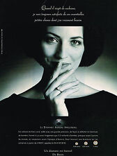PUBLICITE  ADVERTISING  1998   DE BEERS  joaillier diamantaire