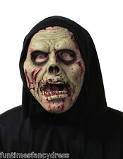 Halloween Soft Flexi De Espuma Con Capucha Zombie Brain Eater Mask Flexible Fancy Dress