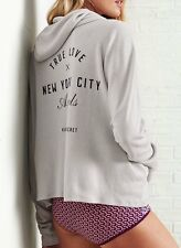 Victorias Secret Supermodel Slouchy LOVE NYC ANGELS Hoodie NWT M
