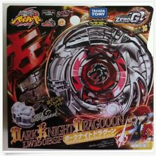 TAKARA TOMY BEYBLADE ZERO-G BBG16 Dark Knight Dragooon+LAUNCHER