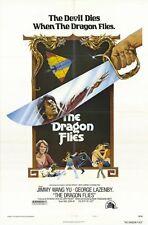 THE DRAGON FLIES Movie POSTER 27x40 Yu Wang George Lazenby