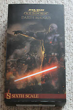 "SIDESHOW Star Wars DARTH MALGUS 1/6 Scale 12"" ACTION Figure OLD REPUBLIC OOP"