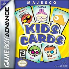 Brand New Kid's Cards  (Nintendo Game Boy Advance, 2005) GBA