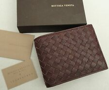 Bottega Veneta-Intrecciato Cuero Billetera + Monedero en Caja Regalo Perfecto!