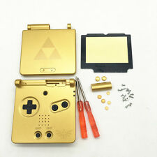 H Replacement Housing Shell Case+Screen Cover+Tool for Gameboy Advance SP GBA SP