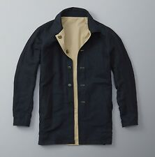 Abercrombie and Fitch Reversible Trench Coat RRP £200 - Small