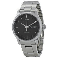 Mido Multifort Automatic Grey Dial Stainless Steel Mens Watch M0058301106100-AU