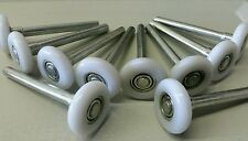 Garage Door Rollers/Wheels Nylon 10 pack 2'' Ball Bearing Rollers