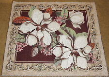 Magnolias in Bloom Grande Tapestry Wall Hanging Crafters Fabric Remnant Piece