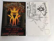 Kottonmouth Kings High Society Postcard Original Promo 4x6 NEVER MAILED