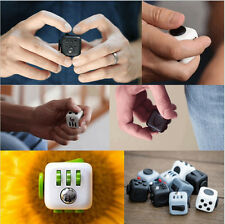2017 Magic Fidget Cube Puzzle Cube Anti-anxiety Stress Relief For Adults